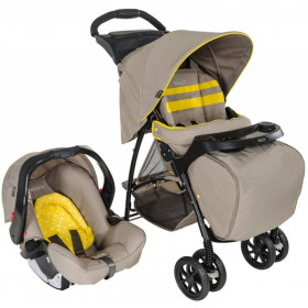 Xe đẩy trẻ em Travel System Graco Mirage + Neon Sand