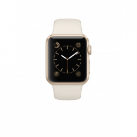 Đồng hồ thông minh Apple Watch 7000 Series 38mm Gold Aluminum Case with White Sport Band