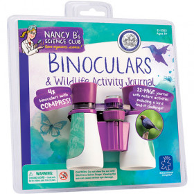 Ống nhòm cho bé Nancy B's Binoculars & Wildlife Activity Jornal - KN 4184